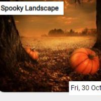 Spooky Landscape Jigsaw
