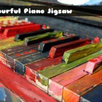 G2M Colourful Piano Jigsa…