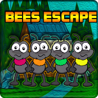 G2J Colourful Bees Escape