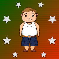 G2J Chubby Boy Escape Fro…