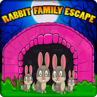 G2J Cute Rabbit Family Es…