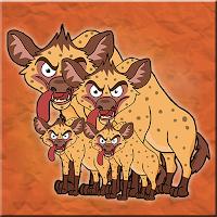 G2J Hyena Family Escape