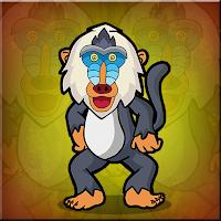 G2J Cute Baboon Escape