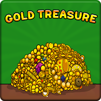 G2J Gold Treasure From Cartoon House