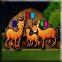 G2J Horse Family Escape