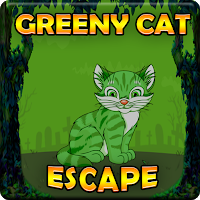 G2J Greeny Cat Escape