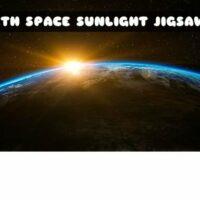 Earth Space Sunlight