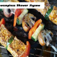 Gemuesepiess skewer