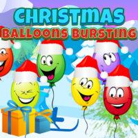 CHRISTMAS BALLOONS BURSTI…