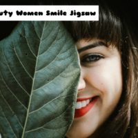 G2M Beauty Women Smile Jigsaw