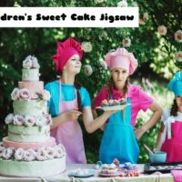 G2M Children's Sweet Cake Jigsaw