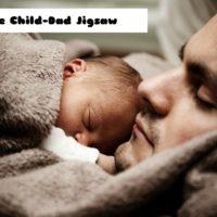 G2M Cute Child-Dad Jigsaw