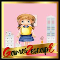 G2E Pink Room Girl Escape…