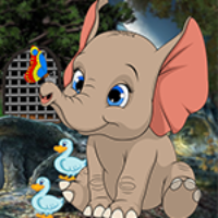G4K Descendant Elephant Escape