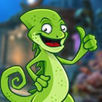 G4K Giant Chameleon Escape