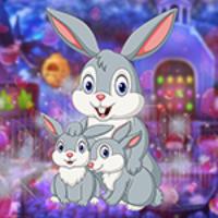 G4K Rescue The Genial Bunny Family