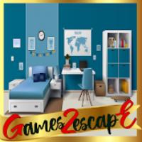 G2E Glossy Blue Room Esca…