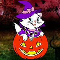 Wow Halloween Cat Forest 22 HTML5
