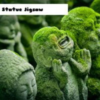 G2M Jizo Statue Jigsaw