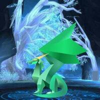 Big Lightening Crystal Forest Escape