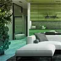 G2R Modern Aqua Room Esca…
