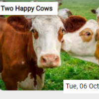 Two Happy Cows Jigsaw