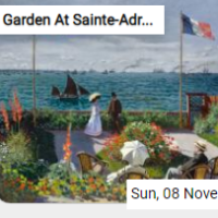 Garden At Sainte-Adresse …