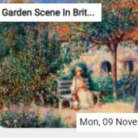 Garden Scene In Britanny …