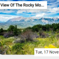 View Of The Rocky Mountai…
