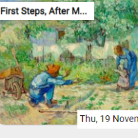 First Steps, After Millet…