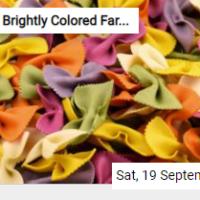 Brightly Colored Farfalle Jigsaw