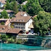 The Lower Gate Bridge In Bern