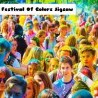 G2M The Festival Of Colors Jigsaw