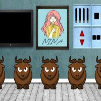 8b Ferdinand The Bull Escape